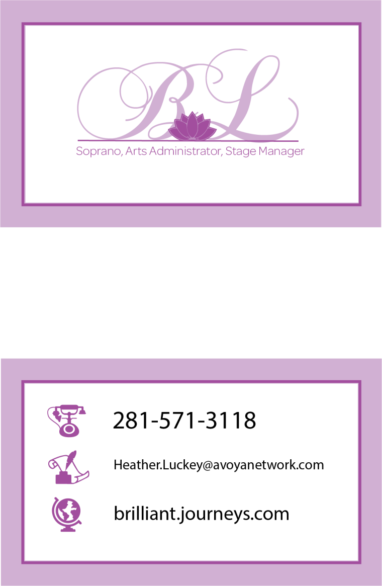 Britany business card